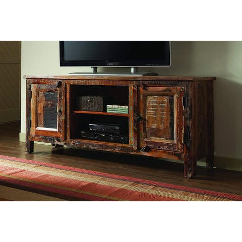 Carina Reclaimed Wood Handcrafted TV Console