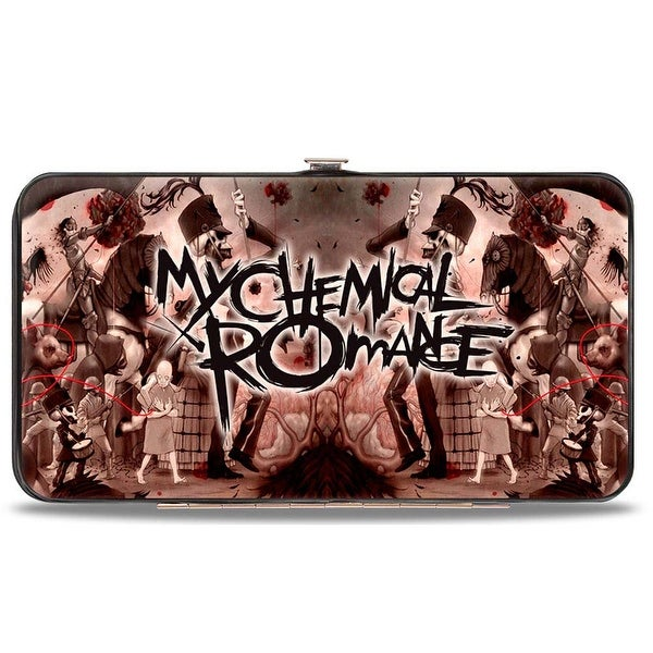 My Chemical Romance The Black Parade Hinged Wallet One Size - One Size Fits most