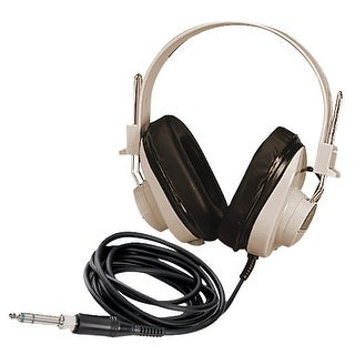 Califone 2924AV Deluxe Mono Headphones with Replaceable Straight Cord