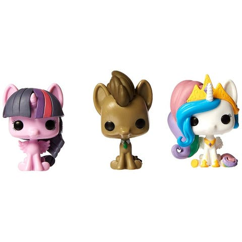 My Little Pony Pocket POP 3-Pack: Hooves, Princess Celestial & Twilight Sparkle - multi