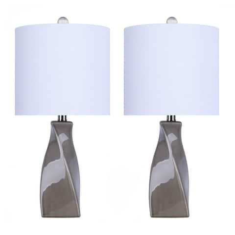 Carson Carrington Bogesjo Ceramic Accent Lamp