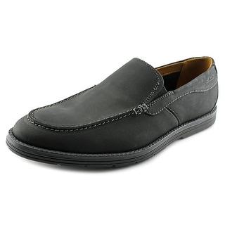 Clarks Radwel Step Men Moc Toe Leather Loafer