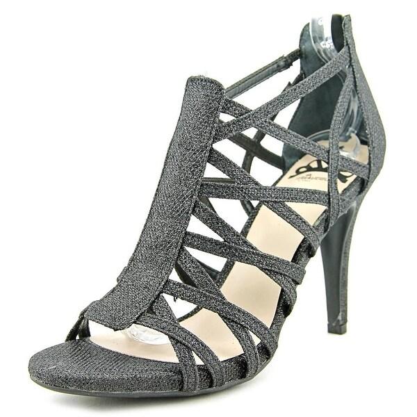 Fergalicious Hattie Women Open Toe Synthetic Black Sandals