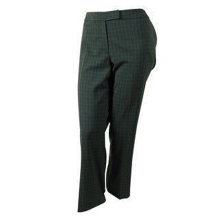 Jones New York Women's Square Print Dress Pants - 12P