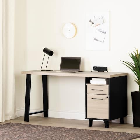 South Shore Kozack Computer Desk with Power Bar