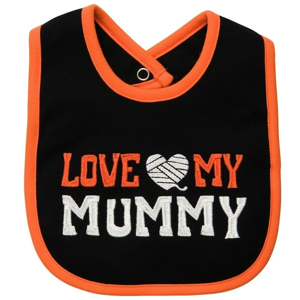 Carters ''Love My Mummy'' Bib - White