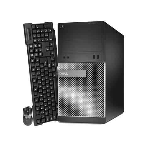 Dell 3010 TWR, intel i5 3470 3.2GHz, 16GB, 2TB plus 120GB SSD, Win 10 Pro Refurbished