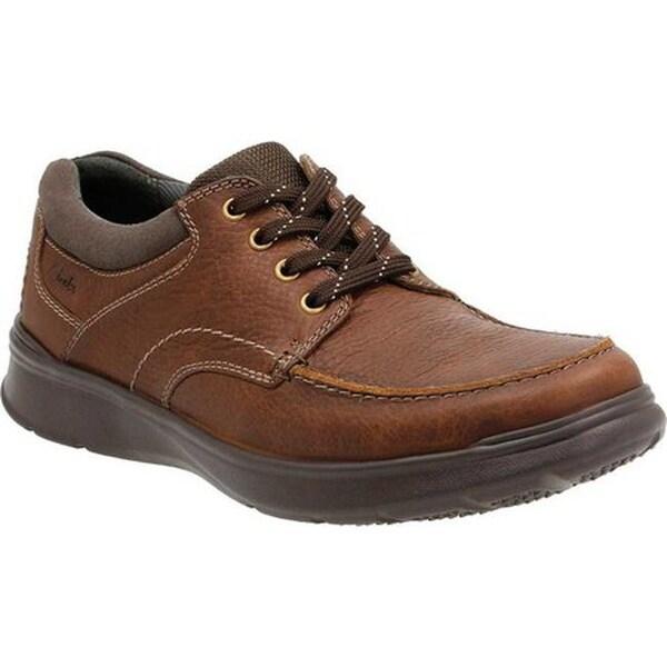 clarks mens black lace up shoes