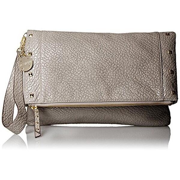 Rosetti Womens Justine Clutch Handbag Textured Faux Leather - Medium