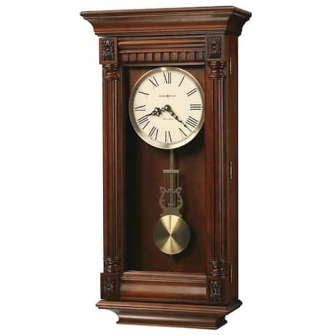 Howard Miller Lewisburg Wood Grandfather Style Wall Clock