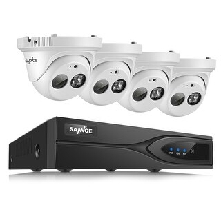 SANNCE 8CH 1080P PoE Network Video Recorder CCTV Security Cameras System (2 options available)