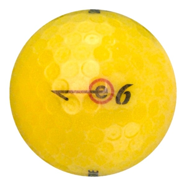 36 Bridgestone e6 Yellow - Value (AAA) Grade - Recycled (Used) Golf Balls