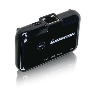Iogear Universal Ethernet To Wi-Fi N Adapter For Home Or Office, Gwu627