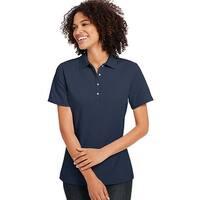 Hanes Women's X-Temp w/Fresh IQ Pique Polo - Size - S - Color - Navy