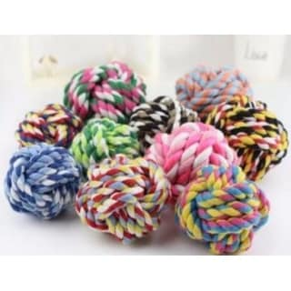 Link to One Colorful Small Ball Bone Knot Dog Ball for Aggressive Chewers Similar Items in Dog Food & Treats