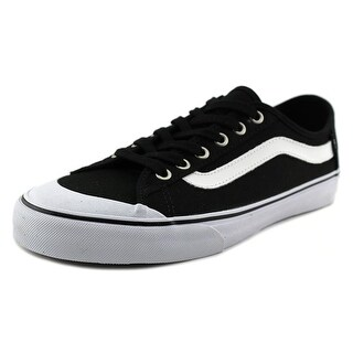 Vans Black Ball SF Men Round Toe Canvas Black Sneakers
