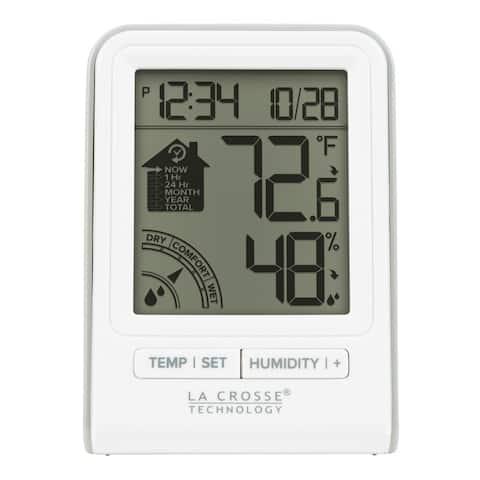 La Crosse Technology 302-1409BW-W-INT Data Logger Indoor Comfort Meter
