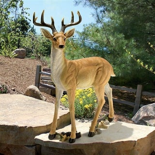 Design Toscano Woodland Buck Deer Statue