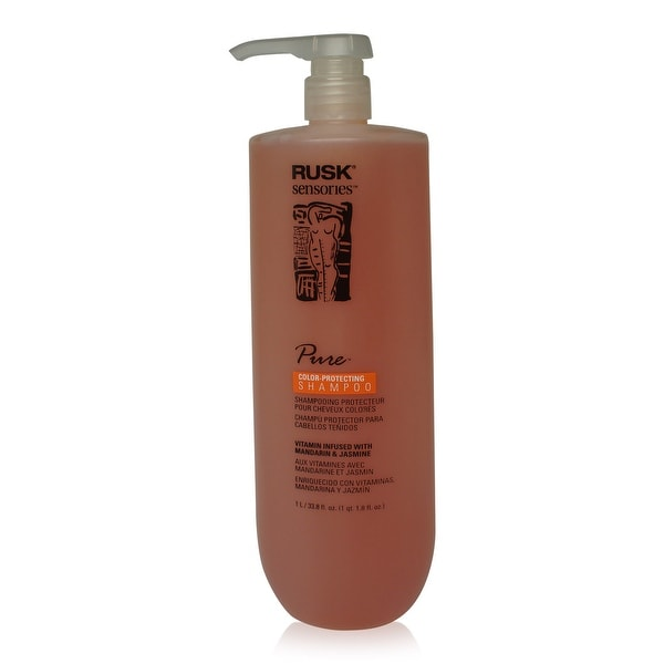 Rusk Pure Shampoo (New Pkg) 33.8 Oz