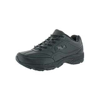 Fila Mens On The Job SR Work Shoes Synthetic Slip Resistant