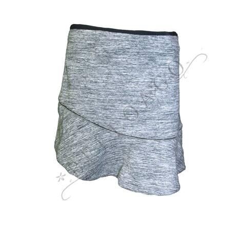 Aryn K. Women's $100 Asymmetrical Ruffle Zipper-Trim Hem Knit Skirt (S) - S