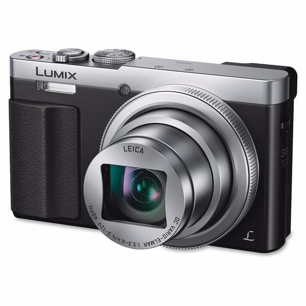 Panasonic Lumix DMC-ZS50 Digital Camera (Silver) International Model