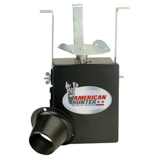 Gsm outdoors 30581 american hunter feeder kit economy w/photocell timer