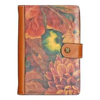 Patricia Nash Womens Chieti Notebooks & Journals Leather Floral Print
