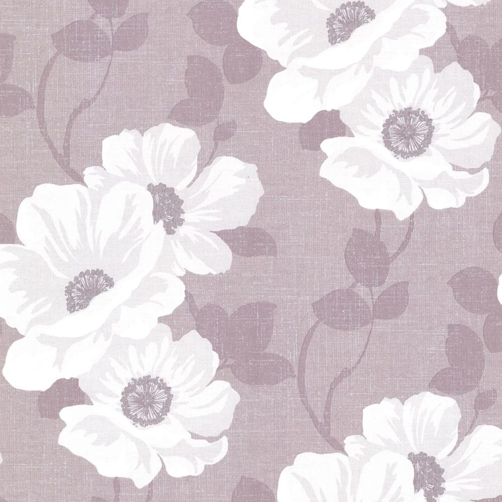 Shop Brewster 2614 21053 Leala Lavender Modern Floral Wallpaper