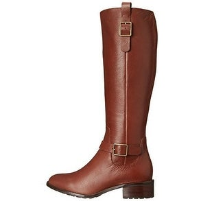 Cole Haan Womens KENMARE Almond Toe Knee High Riding Boots