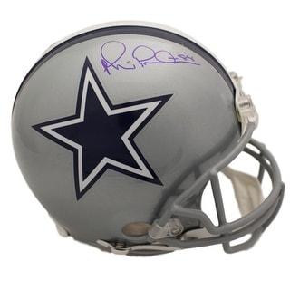 Michael Irvin Autographed Dallas Cowboys Proline Helmet In Blue BAS