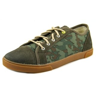 Timberland Earthkeepers Glastenbury Youth Round Toe Canvas Green Sneakers