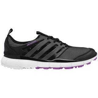 Adidas Women's Climacool II Core Black/Flash Pink Golf Shoes Q46732