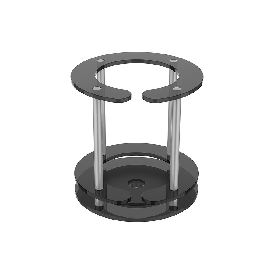 Monoprice Desk Stand for Amazon Echo - Black | Maximum Protection| Performance | Compatible With The UE Boom Speaker System (Maximum Protection