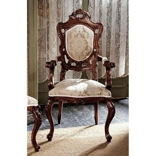 Design Toscano Toulon French Rococo Armchair
