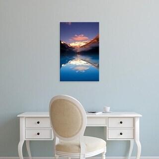 Easy Art Prints Michele Westmorland's 'Lake Louise Morning' Premium Canvas Art