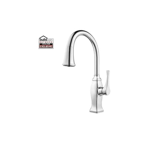 Pfister GT529BF Briarsfield Pullout Spray Kitchen Faucet with AccuDock