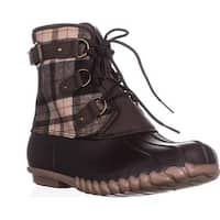 BareTraps Fahn Snow Boots, Dark Brown - 10 us