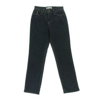 Levi's Womens 512 Denim Tummy Slimming Straight Leg Jeans