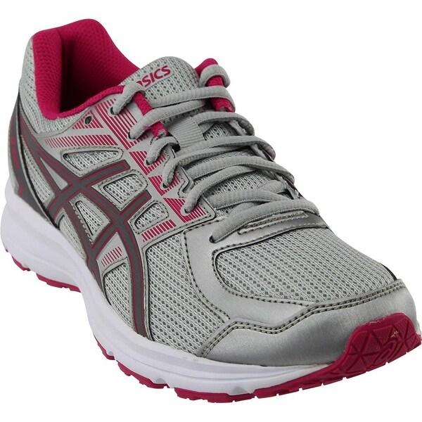 Shop ASICS Womens Jolt Running Shoe Fabric Low Top Lace Up