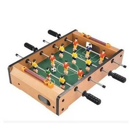 Crown HG25 small children's toys table football Mini Soccer World Cup Soccer table four