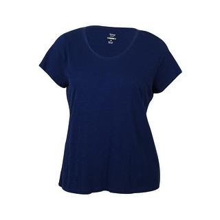 Style & Co. Women's Cotton Scoop Neck Shirt