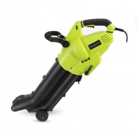 Electric Garden Blower, Vacuum & Shredder - Home Gardening & Backyard Landscape System