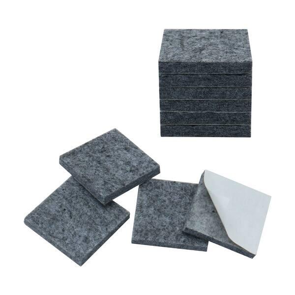 Shop Felt Furniture Pads Square 1 3 4 Self Adhesive Anti Scratch