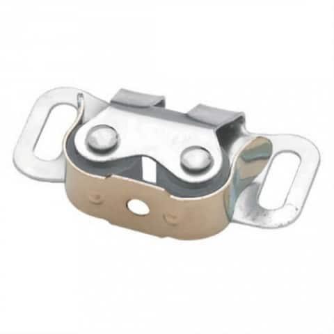 "Brainerd C07400C-UC-P2 Double Roller ""C"" Clip Catch, Unichrome"