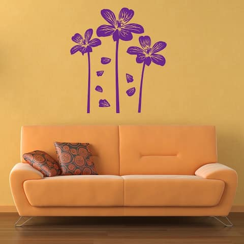 Style and Apply Flower Amigos Vinyl Wall Decal
