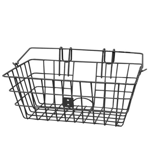 Evo E-Cargo Lift-Off Classic Steel Bicycle Handlebar Basket - HT-119