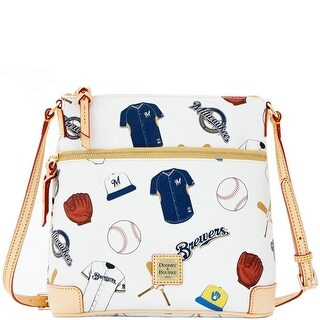 Dooney & Bourke MLB Brewers Crossbody (Introduced by Dooney & Bourke at $188 in Jan 2015) - White
