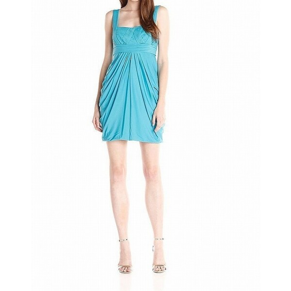 eaedb1a50e5 Shop BCBG Max Azria NEW Blue Womens Size Large L Empire Waist Prom ...