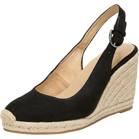 Naturalizer Womens Pearl Wedge Sandals Cushioned Footbed Espdrilles